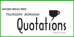 Thursday Morning Quotations book cover