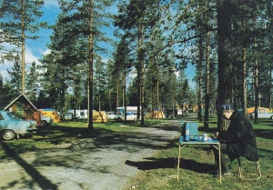 1970's camping picture
