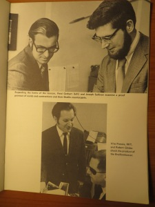 Early news story photos of Duxbury Systems
