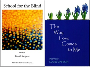 Book Covers of School for the Blind and The Way Love Comes to Me